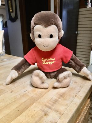 Curious George stuffed animal by Gund for Sale in North Royalton, OH