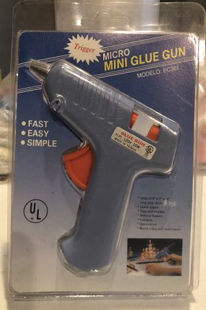 Mini glue gun fast , easy, and simple to use...!! for Sale in San Gabriel, CA