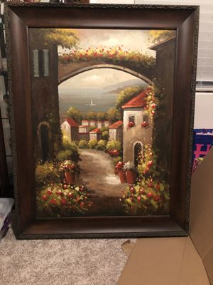 Extra large oil painting for Sale in Visalia, CA