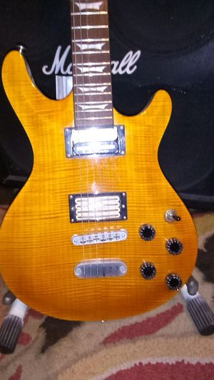 Dean icon flame top guitar for Sale in Upland, CA