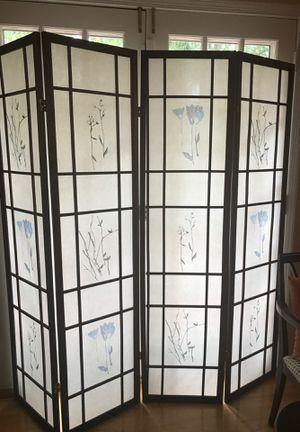 4 penal wall screen dividers for Sale in Alexandria, VA