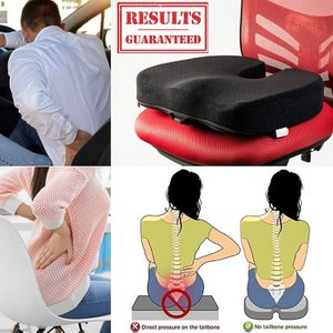 Seat Cushion for Office Chair Will Not Flatten -Orthopedic Memory Foam for Sale in Rancho Cucamonga, CA
