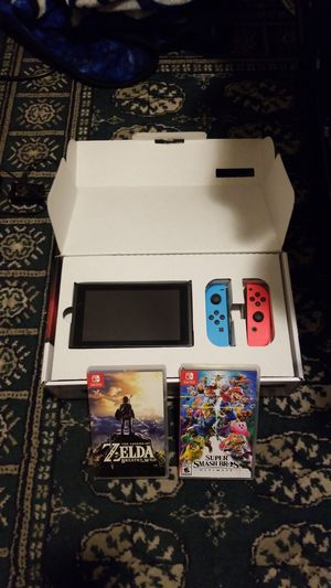 Nintendo switch no games for Sale in Fall River, MA