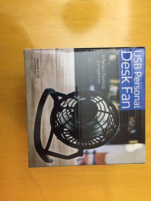 USB Personal Desk Fan for Sale in San Luis, AZ