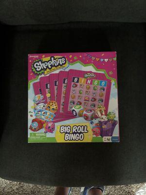Shopkins Big Roll Bingo for Sale in Evans City, PA
