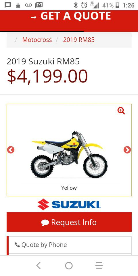 Please read All bikes come with title it would take me 30 minutes to do the paperwork My dad owned the best dirt bike store in the East Coast