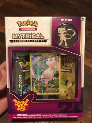 Pokemon mew mythical collection box for Sale in Sherwood, OR