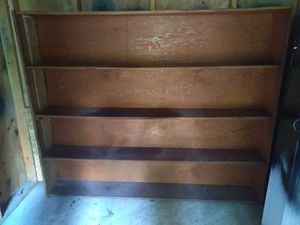 Garage/shed wood shelf 6 foot wide 5 foot tall 1 foot deep for Sale in Paris, KY