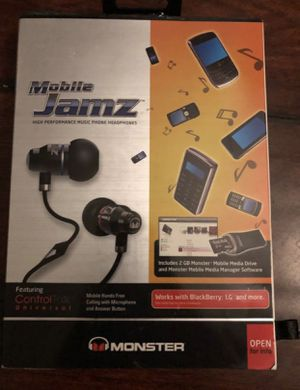 Monster Beats Jamz in ear headphones buds, high quality audio, better sound quality than bluetooth Apple Airpods Pro! for Sale in Oceanside, CA
