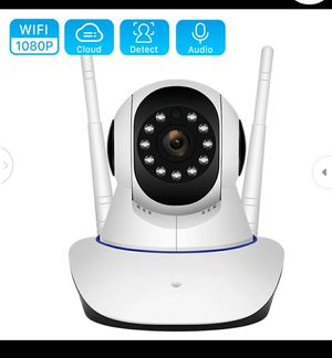 Wifi IP Camera Digital Zoom Motion Detect Wireless Camera H.265 P2P ONVIF Audio Home Security CCTV Camera for Sale in Turlock, CA
