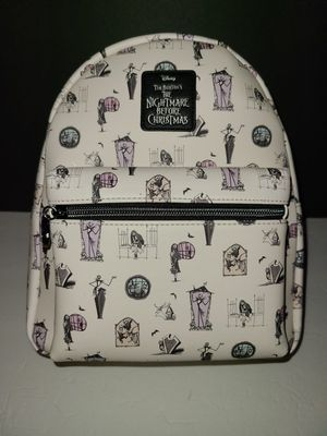Disney Loungefly THE NIGHTMARE BEFORE CHRISTMAS backpack for Sale in El Monte, CA
