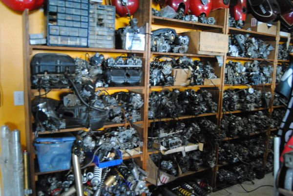 Motorcycle and scooter parts
