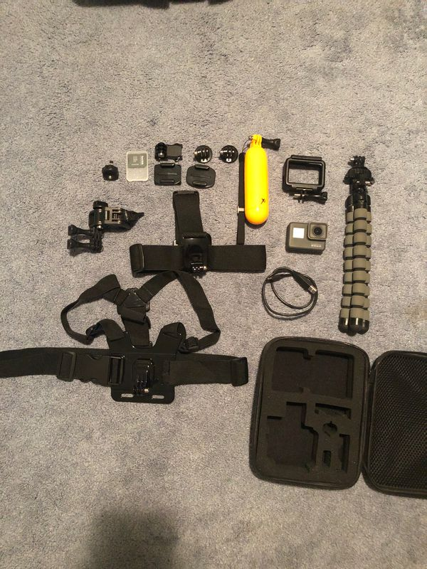 GoPro Hero 5 with Travel Case and Accessories