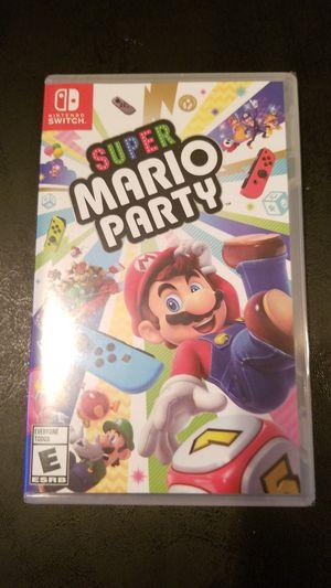 Nintendo Switch Super Mario Party 8 for Sale in Philadelphia, PA