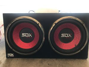 "Sdx pro audio 12"" subs for Sale in Indianapolis, IN"