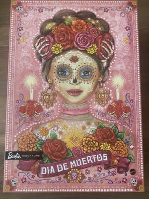 Barbie Dia De Los Muertos Doll Day of The Dead DOTD 2020 Pink IN HAND for Sale in Pinellas Park, FL