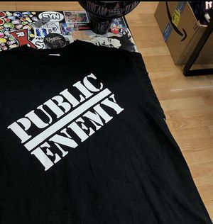 Supreme public enemy x undercover tee xl and large for Sale in Oakland, CA