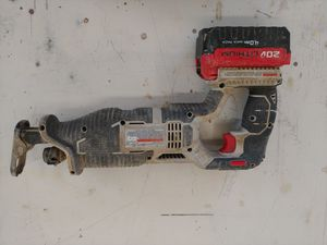 Porter Cable Jig Saw w/ 20v Lithium battery 4.0Ah for Sale in Clermont, FL