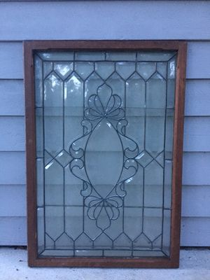 Antique Beveled Lead Glass Window for Sale in Maitland, FL