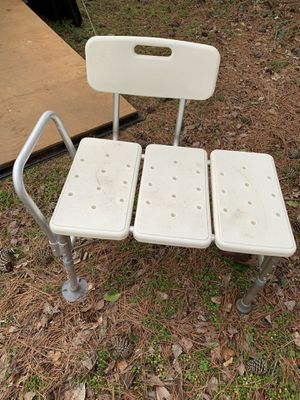 Wide shower chair for Sale in Jetersville, VA