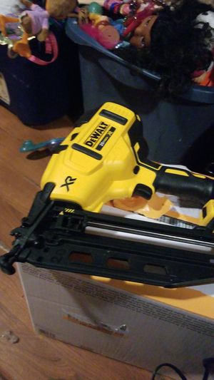 Dewalt finish nail gun for Sale in Philadelphia, PA