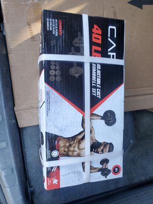 New dumbbells set 40 lbs for Sale in Sanger, CA