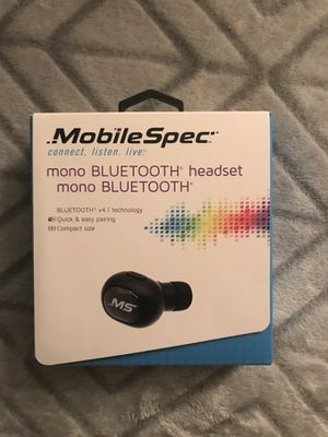 Mobile Spec True Wireless Single Earbud for Sale in Martinsburg, WV