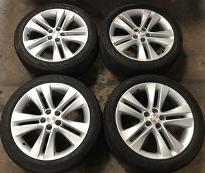 """18"""" Chevy Cruze LTZ Chevy Trax Factory OEM Wheels Rims Tires 18 inch for Sale in Chicago, IL"""