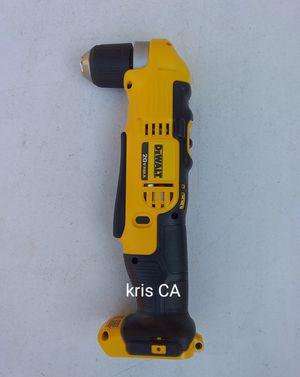 Dewalt 20v right angle drill dcd740 for Sale in La Puente, CA
