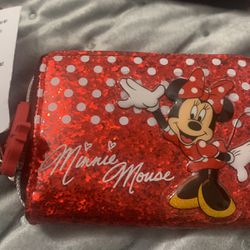 New Coin Minnie Mouse Wallet From DISNEYLAND FIRM $12 for Sale in Lemon Grove,  CA