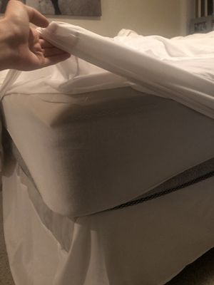Bed frame, mattress, box spring for Sale in Alexandria, VA
