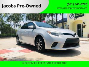 2015 Toyota Corolla for Sale in Lake Worth, FL