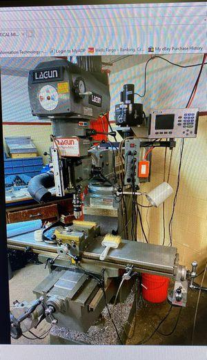 Lagun FTV 2 Vertical Milling Machine for Sale in Fountain Valley, CA