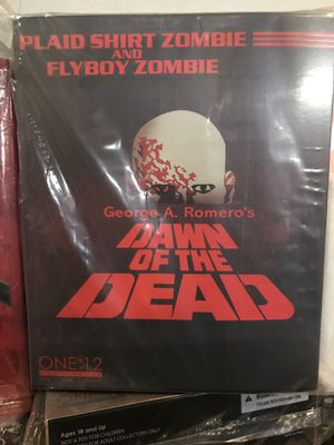 Mezco one:12 Collectibles Dawn of the Dead Action Figure Set for Sale in Hayward, CA