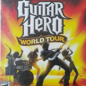 GUITAR HERO WORLD TOUR FOR PS2 for Sale in Opa-locka, FL