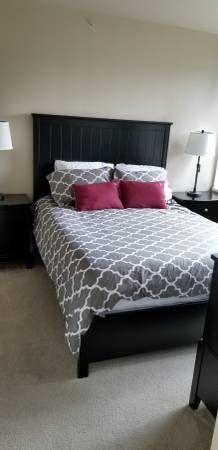 SALE-Bedroom Set (Bed, Mattress, Box Spring, Dresser) for Sale in Seattle, WA