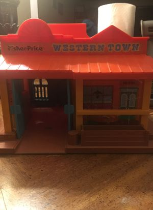 Fisher price western town toy for Sale in Keizer, OR