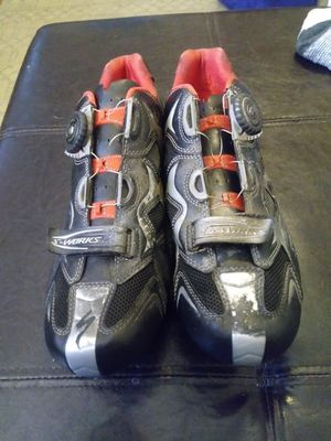 Specialized Biking shoes and clips - size 14 for Sale in San Diego, CA