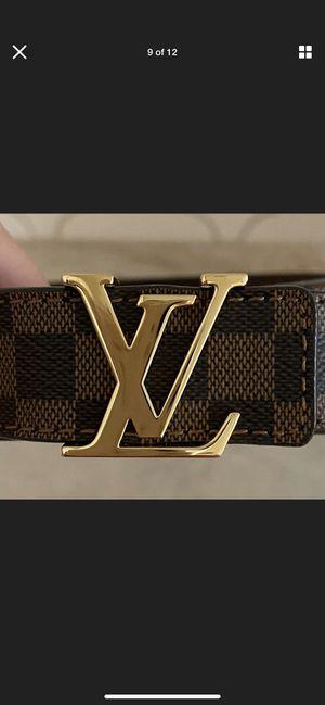 Louis Vuitton belt size 34 for Sale in Austin, TX