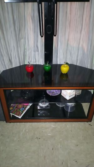 TV Holder Glass Table 60 Inches for Sale in Culver City, CA