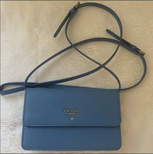 Authentic Prada crossbody bag💙 for Sale in Los Angeles, CA