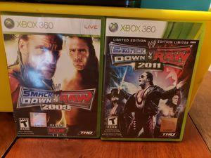 Smackdown xbox 360 for Sale in Lakeland, FL