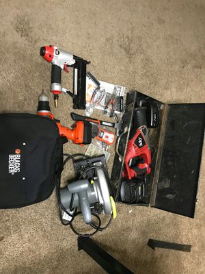 Power and regular tools for Sale in Baltimore, MD