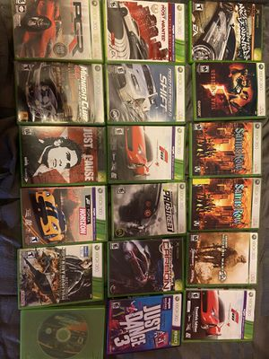 Xbox 360 and xbox games for sale for Sale in Spartanburg, SC