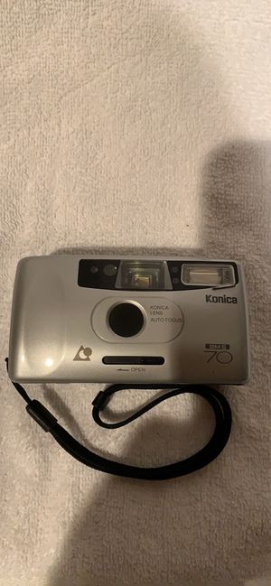 KONICA BM-S 70 CAMERA WITH CR 2 BATTERY for Sale in Selinsgrove, PA