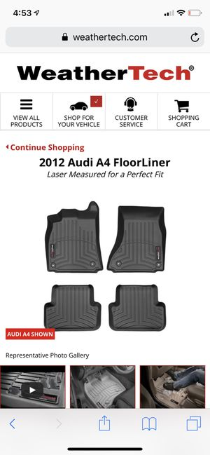 Audi A4 Avant floor mats for Sale in Denver, CO