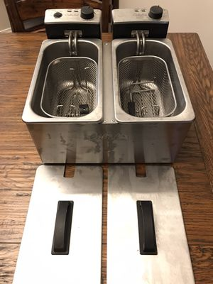 Cabelas Double Deep Fryer for Sale in Maple Valley, WA