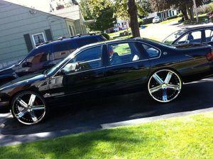 loaded black chevy impala 96 for Sale in Dallas, TX