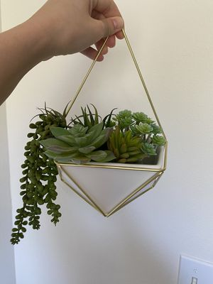 Artificial succulent and planters, large and small for Sale in San Diego, CA
