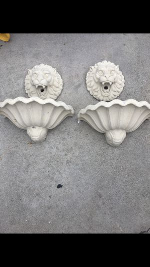 Concrete lion fountains for Sale in La Habra Heights, CA